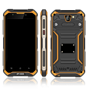 HiDON 5 inch IP68 Rugged Phone with PTT 3G+32G GPS 4G LTE Mobile Phone 8M+13M Camera Waterproof Outdoor Phone