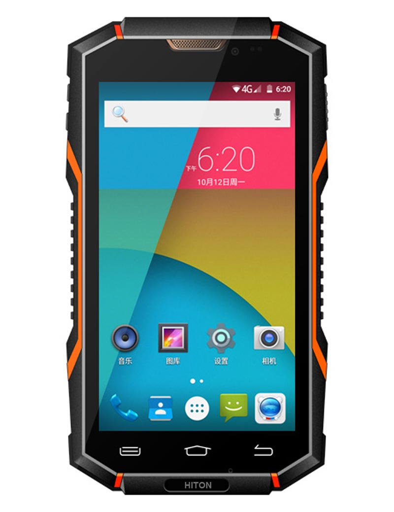 "5"" 5 inch Mediatek MT6735 Android5.1 NFC IP68 rugged Smart phone or IP68 rugged smartphone with 2Gram+16G HR06"