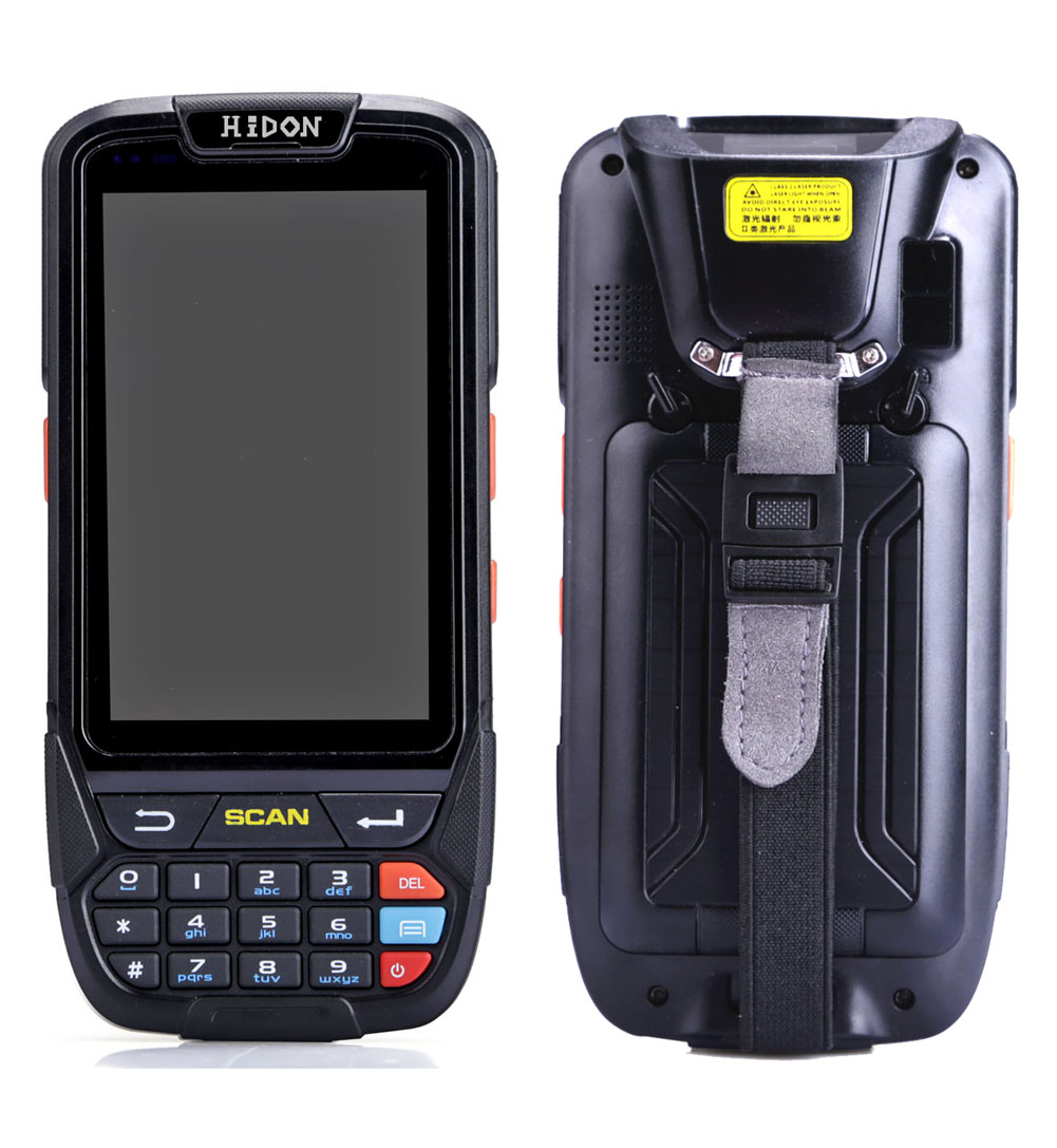 Factory 4 inch MT6737 Android 7.0 Rugged PDA Handhelds 4G LTE 1D/2D Barcode PDA Scanner IP65 PDA RFID Reader