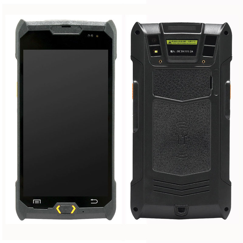 NFC Barcode scanner android 5 inch PDA handheld terminal mobile computer HP50