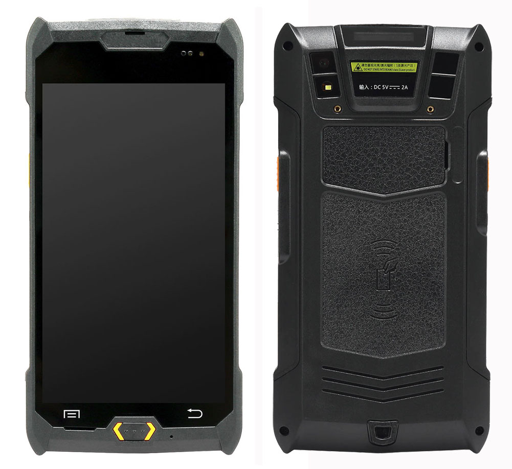 5 inch Android 6.0 Handheld Terminal Phone Rugged IP67 With 1D 2D Barcode Scanner NFC PDA Mobile Computer