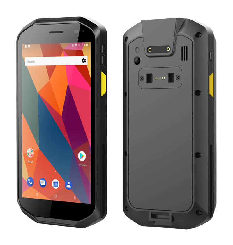 Made-in-China 5 inch Android 8.1 2G RAM+32G ROM Rugged PDA with 2D Barcode Scanner NFC Mobile Handheld Terminals