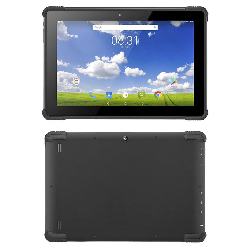 10.1 inch Android 7.0 4G LTE IP54 rugged tablet Waterproof tablets