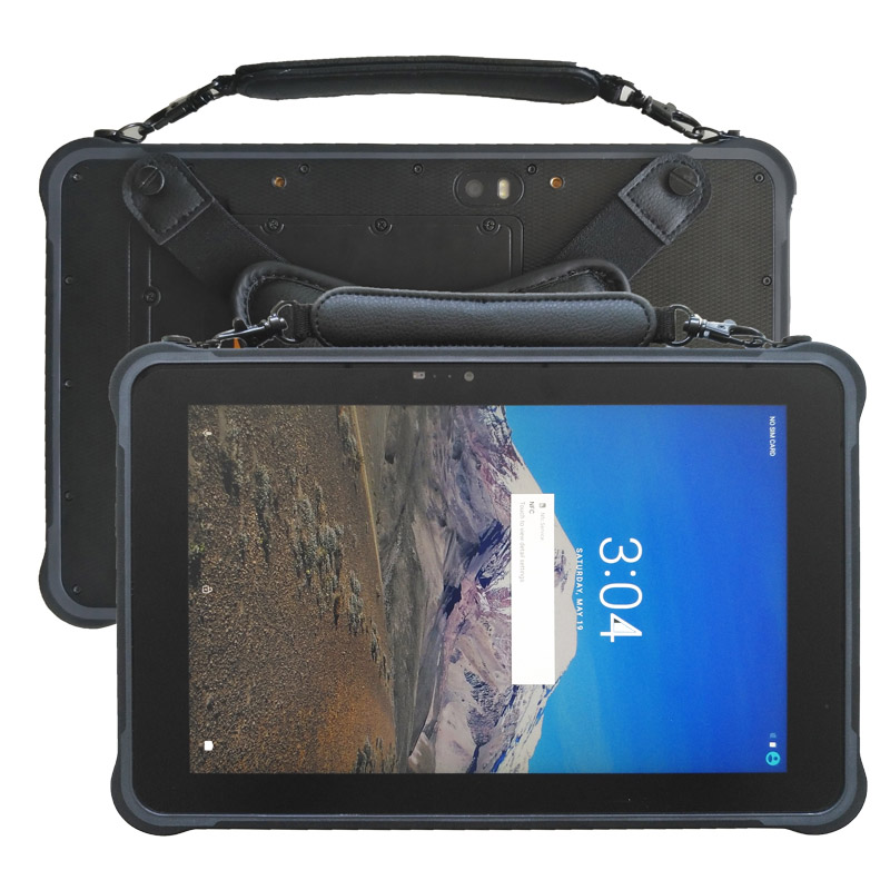 Factory 10.1inch Z8350 Win 10 Rugged Tablets 500 Nits Brightness 4G RAM+64G ROM RJ45 RJ232 Waterproof Tablet PC