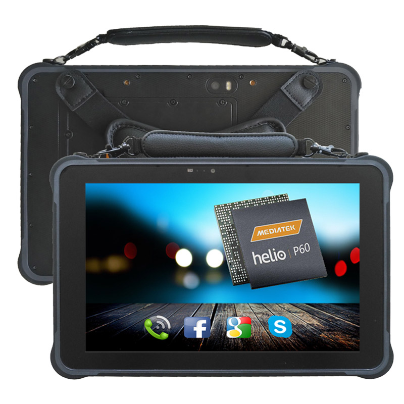 10 inch Octa-core Android 7.0 Tablet PC 3G RAM+32G ROM Rugged Tablet 5M+13.0M Camera With 2D barcode Industrial Tablet