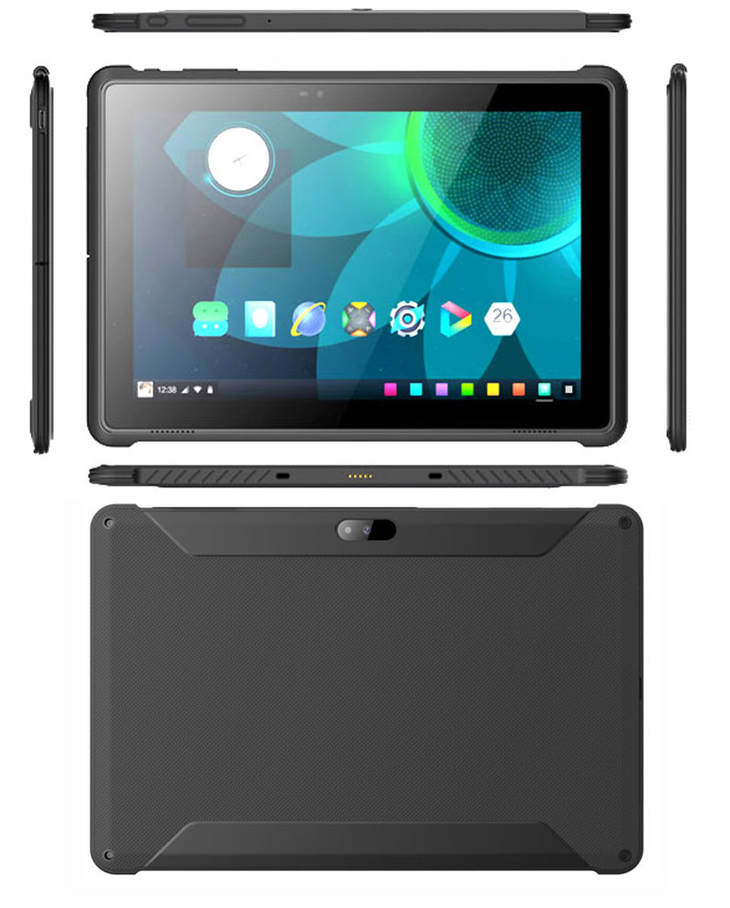 HiDON 10.1 inch Android Educational Tablet 4G+64G Android 10 OS 4G LTE 1920*1200 IP54 Rugged Tablet PC Computer
