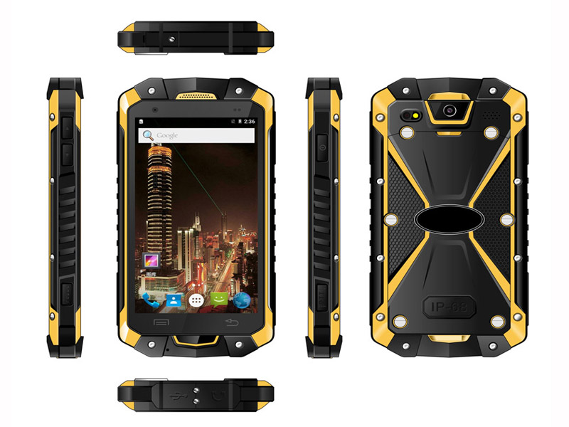 Highton 4.5 Inch Octa-core 4G Android5.1 3G RAM + 32G ROM PTT Waikie-Talkie Rugged Smart Phone,Rugged Smartphone HR453D - Click Image to Close