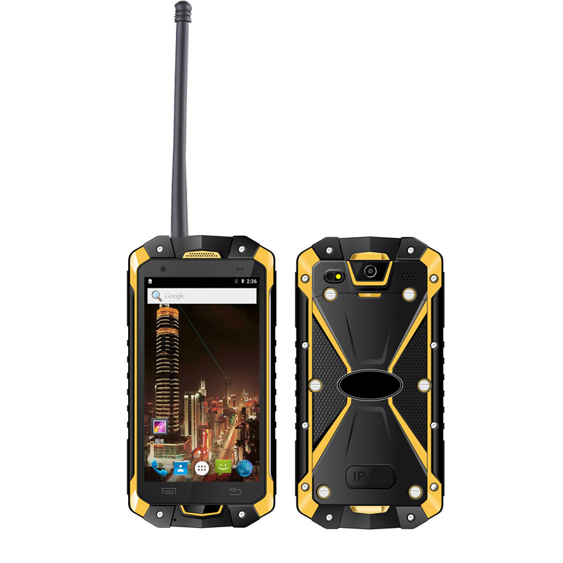 "Highton 4.5"" Octa-core IP68 Rugged Smart phone , 4G Industrial phone with NFC and Walkie-Talkie, 3G+32G"