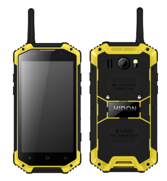 4.7 inch Qualcomm MSM8916 4G PTT Waikie-talkie Rugged Smart phone,waikie-talkie rugged smartphone with 5M+13M camera NFC infrared