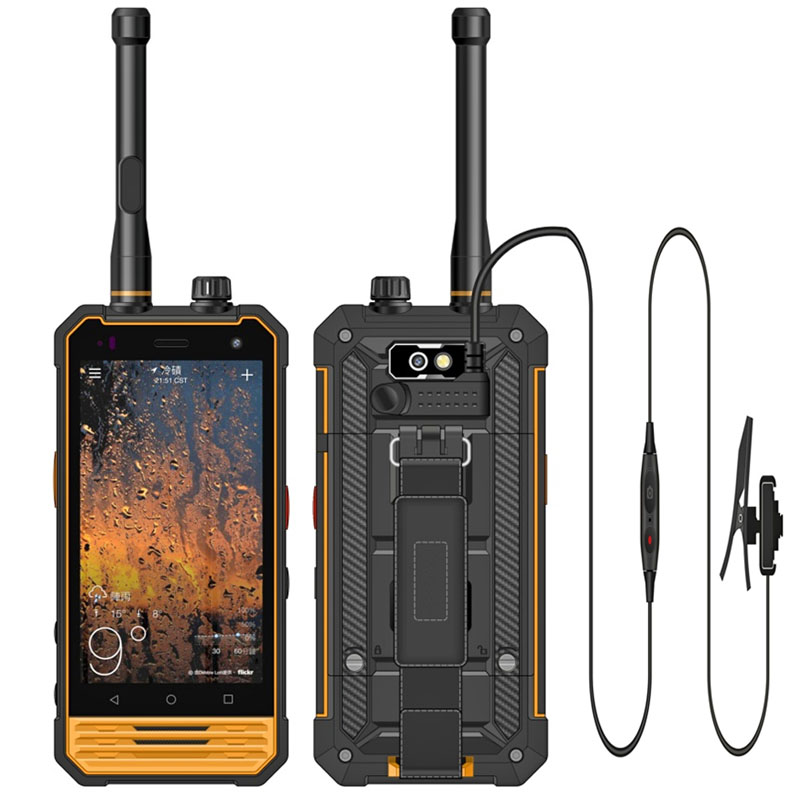 Cheapest 4.7 inch MT6737VCT Android 7.0 Explosion-proof phone 4G Gas Station Phone PTT NFC Chemical phone with External Camera