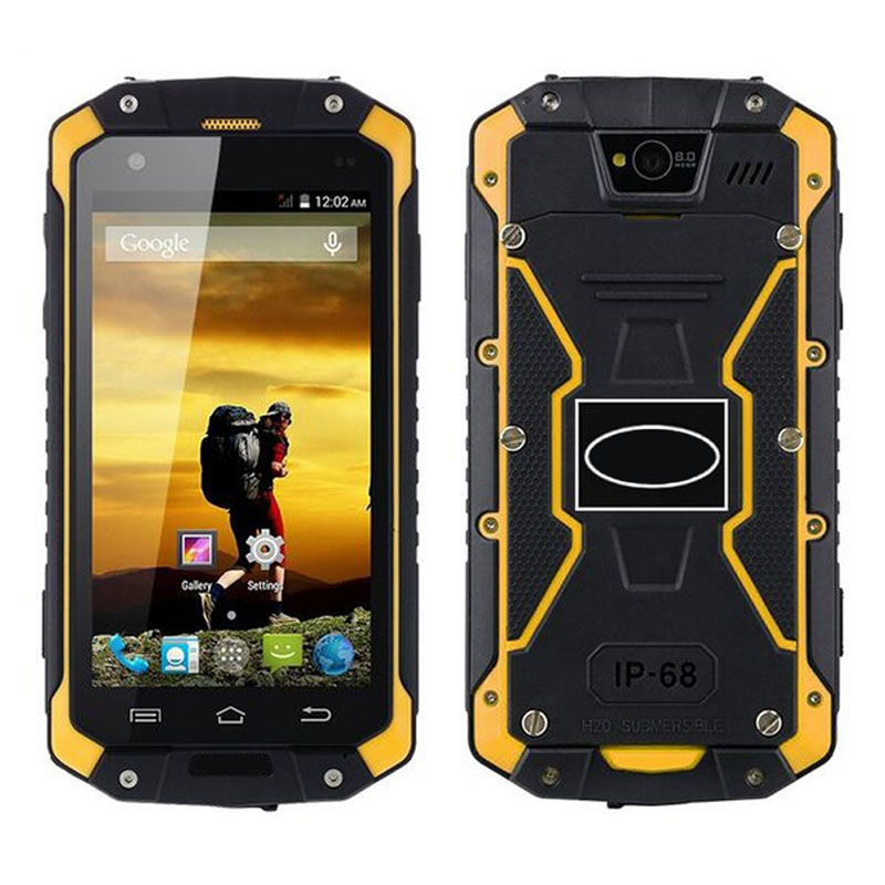 Factory 4.5 inch Android 5.1 rugged phone 2G+16G Smartphone 3G Network Mobile phone IP65 Waterproof Phone