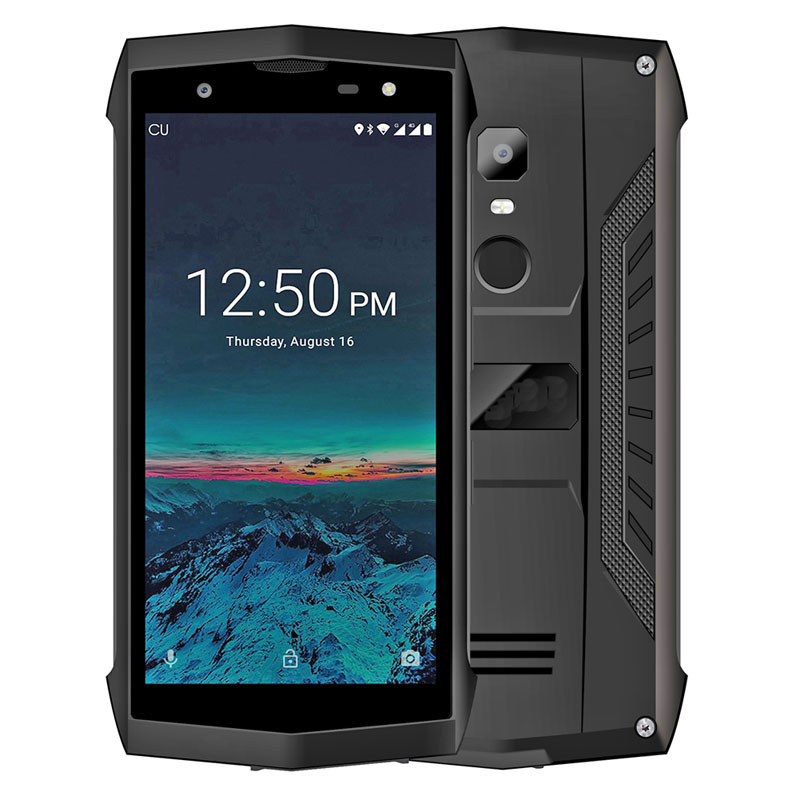 5 inch Quad-core4G LTE Networks IP68 Two Cameras .NFC PTT Android 8.1 Fingerprint rugged phone waterproof phone rugged smartphone outdoor phone