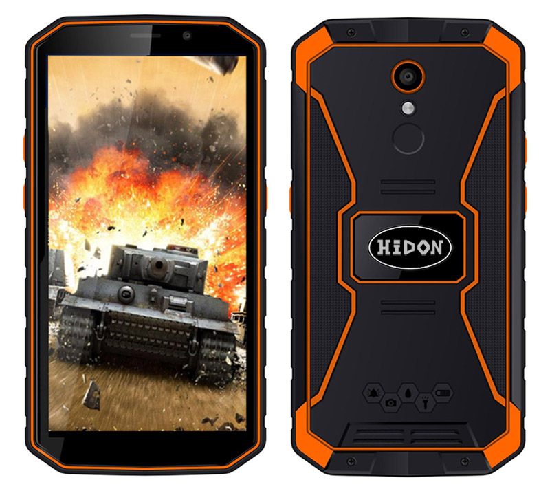 5.5 inch MTK6739 Android 8.1 rugged phone 2+16 waterproof smartphone 4G LTE Mobile phone with 5500mAh battery