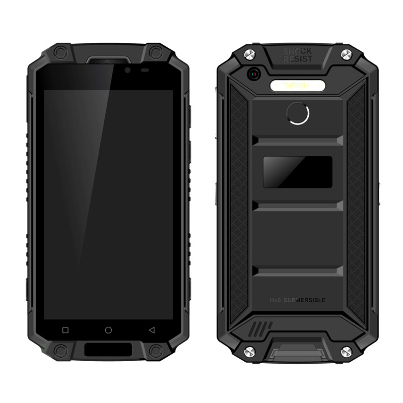 Newest 5.5 inch MTK6750V/CT Android 7.0 rugged phone 4+64 waterproof smartphone 4G LTE Mobile phone with 9000mAh battery