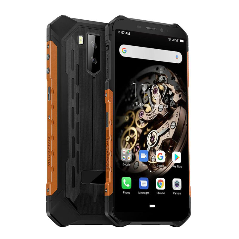 Rugged Smartphone Android 9.0 Octa-core Helio P23 NFC IP68 3GB 32GB 5000mAh Cell Phone 4G Mobile Phone Android
