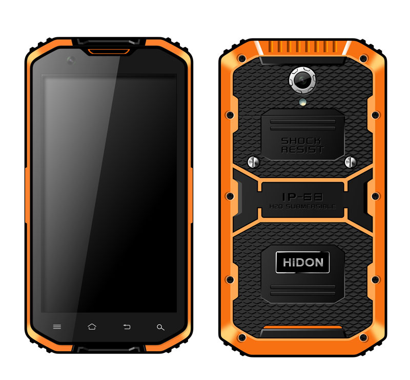 5.5 inch Android Rugged Smart phone or Rugged smartphone or rugged mobile Phone HR555 - Click Image to Close