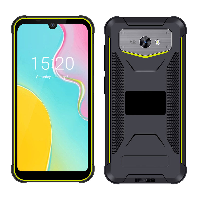 5.7 inch Android 9.0 Rugged Phone 4G RAM 64G ROM 4G LTE Smartphone for Hospital Use IP68 PTT NFC Medical Mobile Phone