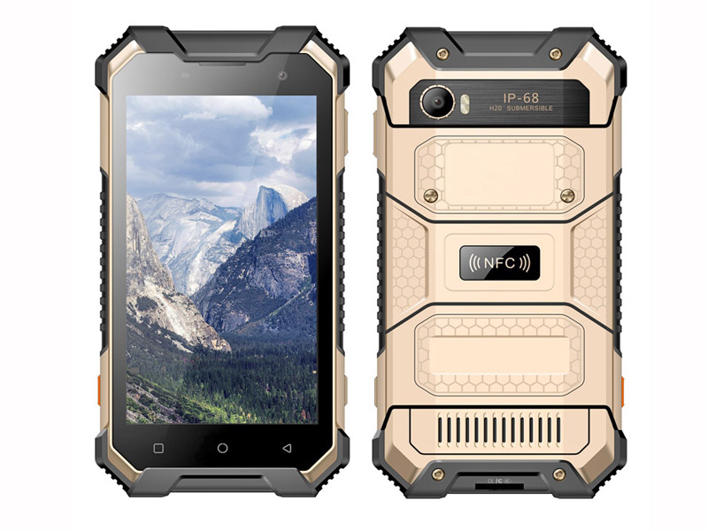 4G 8 Core 2.0GHz Android 7.0 Rugged Smartphone With 4+64G With NFC