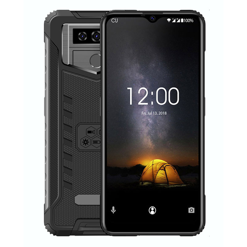HIGHTON Android 6 Rugged Phone 3G RAM+32G ROM 3G Network Phone Support Fingerprint IP65 Waterproof Industrial Handset
