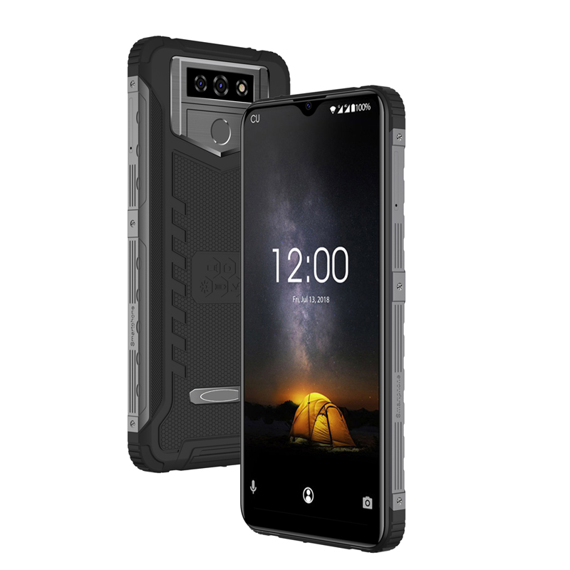 6.53 inch Android Smartphone 3G RAM+32G ROM 3G Mobile Phone Support Fingerprint IP65 Rugged Phone