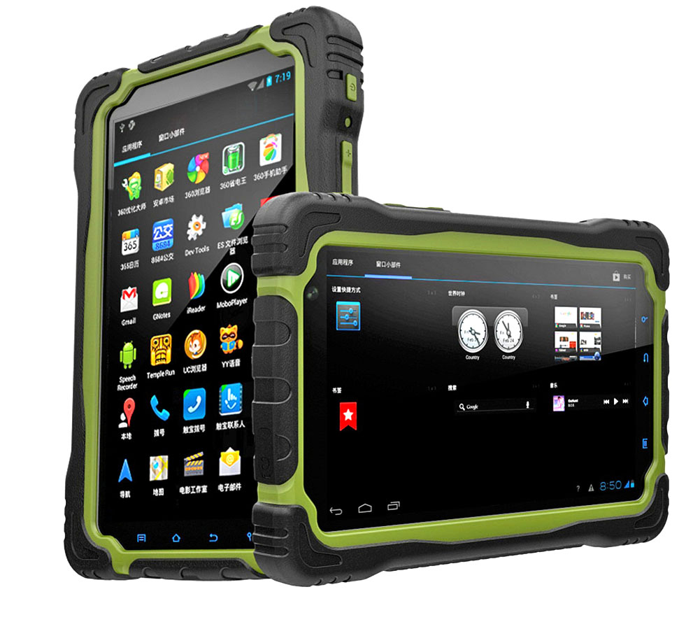 7 inch Deca-core Android 6.0 rugged tablets 4G RAM + 64G ROM Strong Sunlight Readable Tablet 4G LTE IP67 waterproof tablet pc
