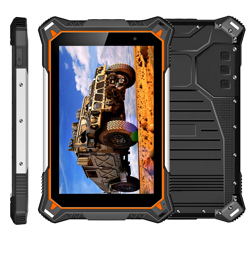 Factory 8 inch Rugged Android Tablets MTK6753 Octa-core Android 8.1 Rugged Tablet PC 2G+32G IP68 Waterproof tablets