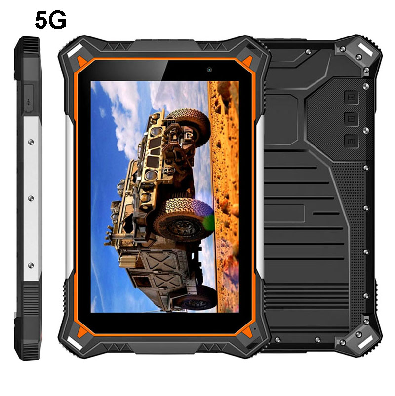 HiDON 8 inch Octa-core 8G+128G IP68 android 5G Rugged Tablet PC with 5G