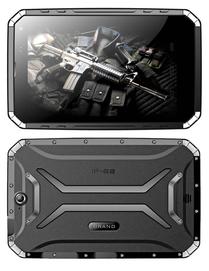 8 inch Z3735F Android 5.1 or Wins 10 2G RAM+32G ROM 3G Network IP68 Rugged Tablet Waterproof Tablet PC