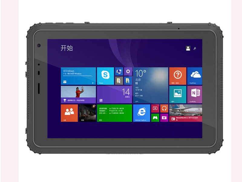 Highton 8 inch Intel Cherry Trail Z8350 2Gram DDR + 32G EMMC GPS NFC rugged windows tablet computer HR843 - Click Image to Close