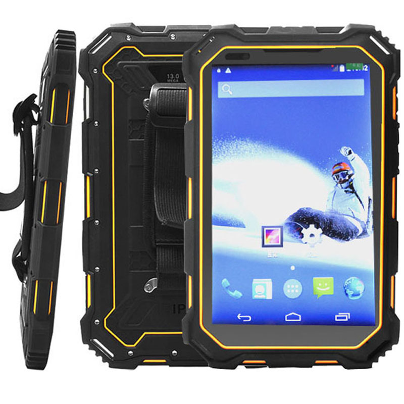 HiDON 7 inch 4G FDD LTE Android NFC Rugged Android Tablets IP68 Fully-Rugged Tablet PC Computer - Click Image to Close