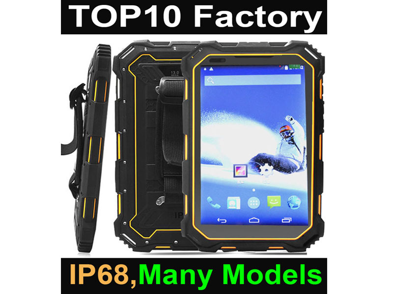 Highton 7 Inch 13.0M Camera 4G LTE Android 5.1 Rugged Android Tablet With NFC Reader