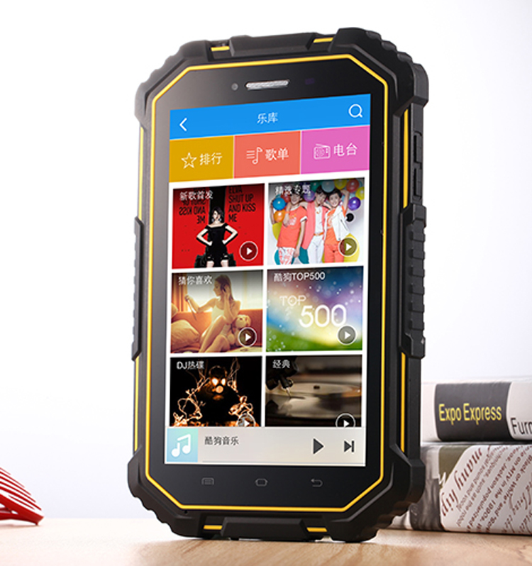 HiDON 7 inch Octa-core Android 9.0 Rugged Tablet pc 4G+64G+4G LTE NFC IP67 Waterproof Tablet