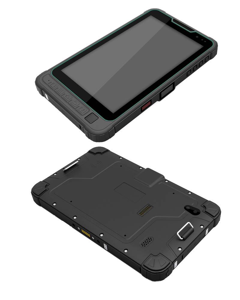 8 Android RS485 fingerprint 2D barcode scanner UHF RFID ...